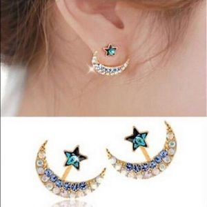 Jewelry - 🌙The Bombay Sapphire Earrings